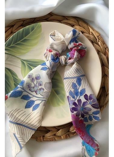 My Joyas Design Çiçek Desenli Fiyonk Toka Renkli